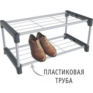 Полка для обуви Sheffilton SHT-SR5-P серый/темно-серый mymei серый