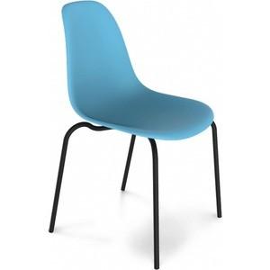Стул Sheffilton SHT-S30 голубой/черный муар стул барный sheffilton sht s48 черный черный муар 2 штуки