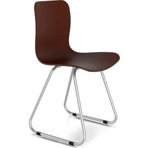 Стул Sheffilton SHT-S41 коричневый/хром лак стул sheffilton sht s40 коричневый медный мет