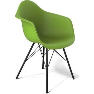 Стул Sheffilton SHT-S62 зеленый/черный муар стул sheffilton sht s48 гранит черный муар 2 штуки