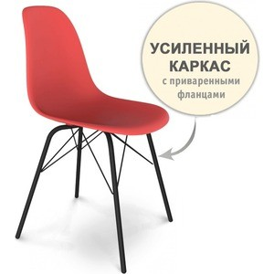 Стул Sheffilton SHT-S64 красный/черный муар стул sheffilton sht s62 белый черный муар