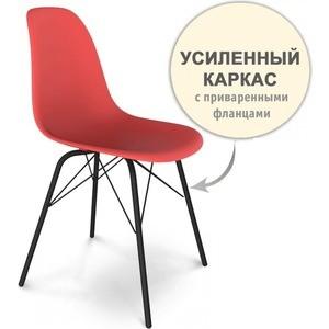 Стул Sheffilton SHT-S64 красный/черный муар стул барный sheffilton sht s48 черный черный муар 2 штуки