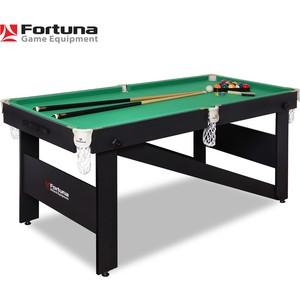 Бильярдный стол Fortuna Hobby BF-630P Пул 6фт с комплектом аксессуаров. настольная игра fortuna 07736 бильярдный стол пул 3фт 4 в 1