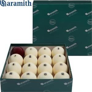 Шары Aramith Premier d68 мм красный биток шар aramith premier pool 8 57 2мм