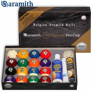 Шары Aramith Pool Tournament Value Pack d57,2 мм