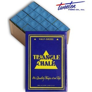 Мел Tweeten Triangle Blue 72шт.