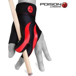 Перчатка Poison Poison L/XL crimson poison