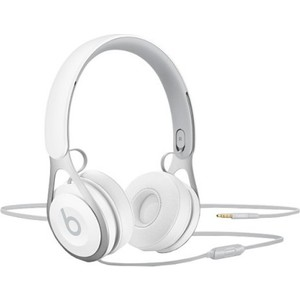 Наушники Beats EP On-Ear Headphones white (ML9A2ZE/A) беспроводные наушники monster isport freedom wireless bluetooth on ear green