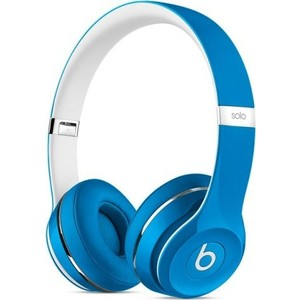 цена Наушники Beats Solo2 Luxe Edition blue (ML9F2ZE/A)