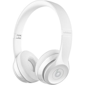 Наушники Beats Solo3 Wireless On-Ear gloss white (MNEP2ZE/A) беспроводные наушники beats mnep2ze a solo 3 wireless gloss white