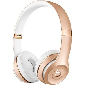 Наушники Beats Solo3 Wireless On-Ear gold (MNER2ZE/A) наушники beats powerbeats2 wireless white mhbg2ze a