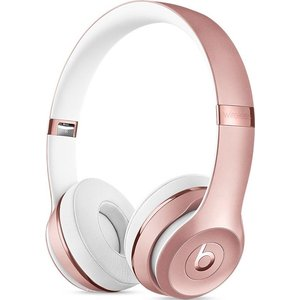 Наушники Beats Solo3 Wireless On-Ear rose gold (MNET2ZE/A) гарнитура apple beats solo3 золотистый mr3y2ze a