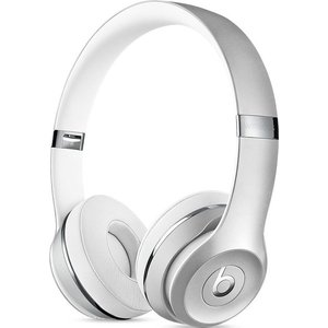 Наушники Beats Solo3 Wireless On-Ear silver (MNEQ2ZE/A) беспроводные наушники beats mnep2ze a solo 3 wireless gloss white