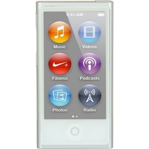 MP3 плеер Apple iPod nano 16Gb silver (MKN22RU/A) apple ipod nano chromatic 4g 8gb