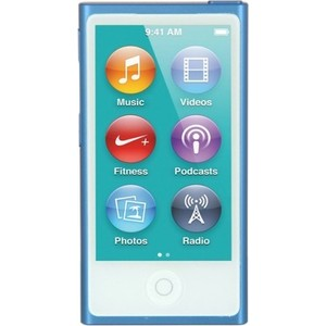 MP3 плеер Apple iPod nano 16Gb blue (MKN02RU/A) apple ipod nano chromatic 4g 8gb