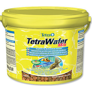 Корм Tetra WaferMix Complete Food for Bottom-feeding Fish and Crustaceans пластинки для всех видов донных рыб и ракообразных 3,6л (193826) 51mm inside 30pcs 4 colors high quality diy handbag bag silver light gold metal accessory arch bridge connector hanger