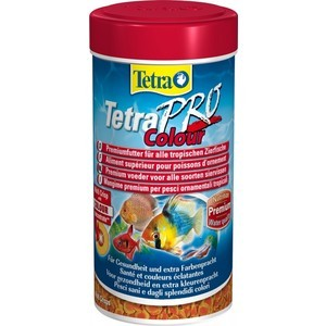 Корм Tetra TetraPro Colour Crisps Premium Food for All Tropical Fish чипсы усиление окраски для всех видов тропических рыб 500мл (204454) корм tetra tetramin xl flakes complete food for larger tropical fish крупные хлопья для больших тропических рыб 10л 769946