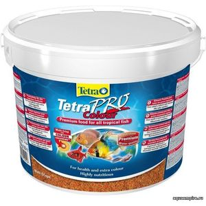 Корм Tetra TetraPro Colour Crisps Premium Food for All Tropical Fish чипсы усиление окраски для всех видов тропических рыб 10л (140516) 1000g 98% fish collagen powder high purity for functional food