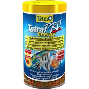 Корм Tetra TetraPro Energy Crisps Premium Food for All Tropical Fish чипсы придание энергии для всех видов тропических рыб 500мл (204430) корм tetra tetramin xl flakes complete food for larger tropical fish крупные хлопья для больших тропических рыб 10л 769946
