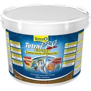 Корм Tetra TetraPro Energy Crisps Premium Food for All Tropical Fish чипсы придание энергии для всех видов тропических рыб 10л (141582) корм tetra tetramin xl flakes complete food for larger tropical fish крупные хлопья для больших тропических рыб 10л 769946
