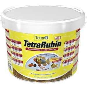 Корм Tetra TetraRubin Flakes Premium Food for All Tropical Fish хлопья усиление окраски для всех видов тропических рыб 10л 769922) 1000g 98% fish collagen powder high purity for functional food