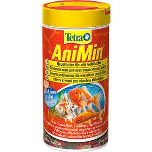 Корм Tetra TetraAniMin Flakes Complete Food for All Goldfish хлопья для всех видов золотых рыбок 10л (766341) корм tetra pond sticks complete food for all pond fish палочки для прудовых рыб 50л