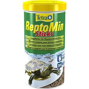 Корм Tetra ReptoMin Sticks Complete Food for All Water Turtles палочки для всех видов водных черепах 1л (204270) корм tetra malawi flakes complete food for east african cichlids хлопья с водорослями для восточно африканских цихлид 1л