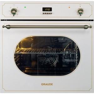 Электрический духовой шкаф Graude BK 60.0 W электрический духовой шкаф fulgor milano sso 30 1 p tc bk
