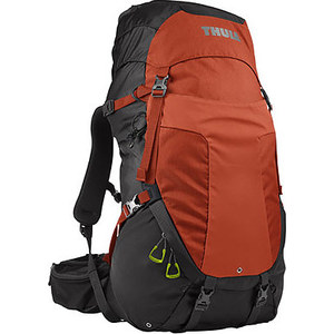 Рюкзак туристический Thule Capstone 40L (мужской), тёмно-серый/оранжевый рюкзак hummingbird t39