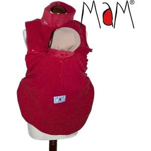 МаМ Флисовая слинговставка-накидка для мамы и малыша Cold Weather Insert, Красная (12259958) товары для мам