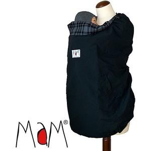 МаМ Всесезонная накидка для слингоношения с шапочкой для малыша. 4 season Babywearing Cover, Черная (12239955)