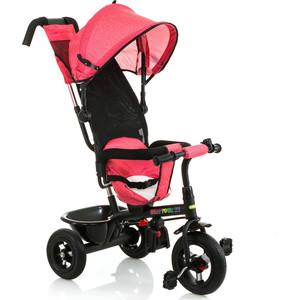 где купить Велосипед трицикл BabyHit Kids Tour XT - розовый под лён дешево