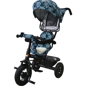 Велосипед трицикл BabyHit Kids Tour - Бело-синий babyhit 3 х колесный kids tour красный
