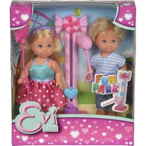 Simba Кукла Еви и Тимми на аттракционах 12 cм (5738059)