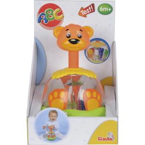 Simba Игрушка-погремушка Медведь с шарами в животе, 20 см (4017672) simba самолет инерционный цвет красный