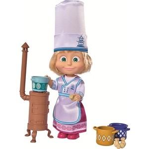 Simba Кукла Маша в одежде повара и аксесс., 12 см (9301987)