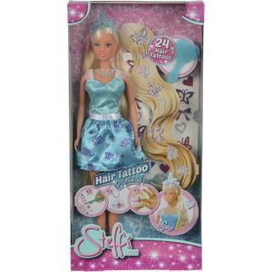 Simba Кукла Штеффи с наклейками для волос, 29 см (5737106)