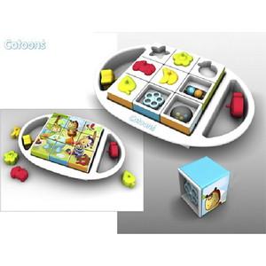 Smoby Cotoon Развивающие кубики-пазлы (211385) smoby кубики