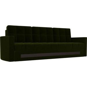 Диван АртМебель Белла микровельвет зеленый угловой диван артмебель андора ткань правый