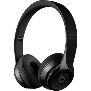 Наушники Beats Solo3 Wireless On-Ear gloss black (MNEN2ZE/A) наушники beats ep on ear headphones black ml992ze a
