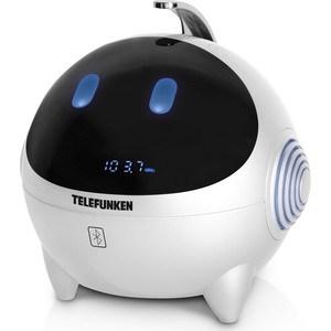 Радиоприемник TELEFUNKEN TF-1634UB wite/blue магнитола telefunken tf srp3449 blue with black
