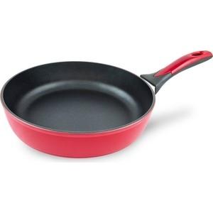 Сковорода d 24 см Нева-Металл Бордо (97124I) сковорода нева металл посуда титан бордо 22 см