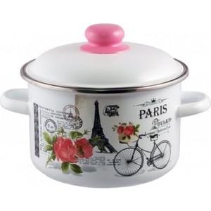 Кастрюля эмалированная 2.0 л Appetite Париж (1RD161M) кастрюля эмалированная 5 5 л appetite париж 1rd221m