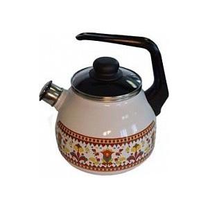 Чайник эмалированный 3.0 л со свистком Appetite Карусель (4с209я) чайник эмалированный со свистком 3 0 л appetite citrus 4с209я