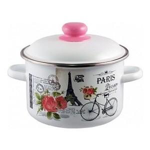 Кастрюля эмалированная 4.0 л Appetite Париж (1RD201M) кастрюля 4 0 л appetite гратен 1rd201m
