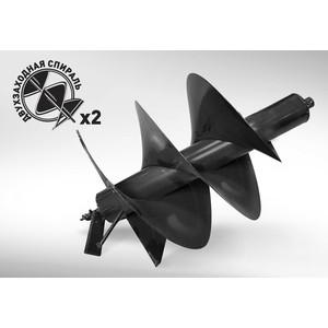 Бур почвенный двухзаходный Carver 400х800мм, 20мм GDB-400/2 (01.003.00055)