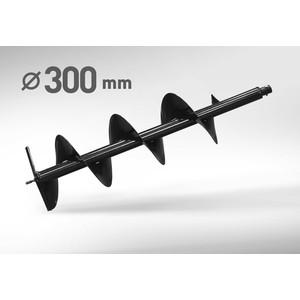 Бур почвенный Carver 300мм, 20мм (01.003.00018) бур земляной ручной 300мм