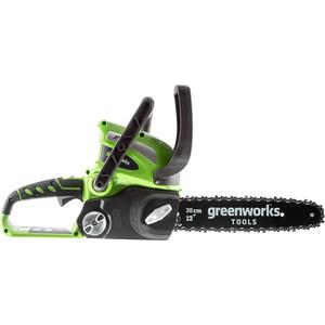 Электропила аккумуляторная GreenWorks G40CS30 электропила аккумуляторная greenworks gd40cs40 0
