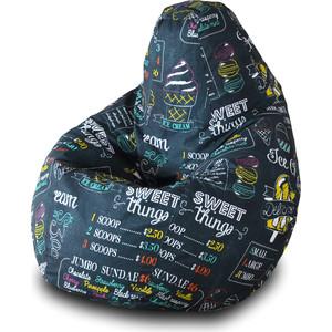 Кресло-мешок Груша Пазитифчик Айскрим 01 мягкие кресла пазитифчик мешок мяч экокожа 90х90