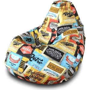 Кресло-мешок Груша Пазитифчик Лейбл 03 кресло мешок груша пазитифчик кактус 03